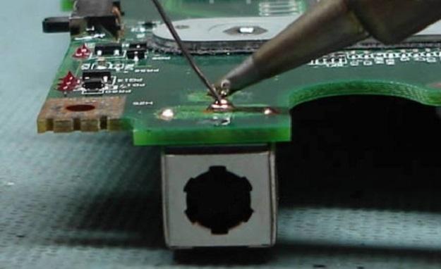 ремонт разьема на ноутбуке управление ФСБ